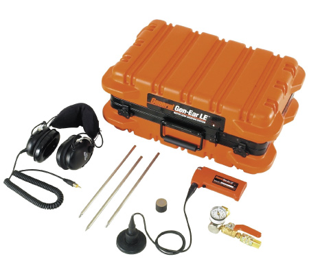 Gen Ear Leak Locator set with parts displayed