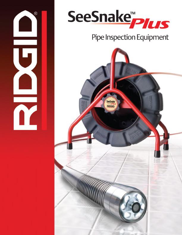 RIDGID SeeSnake Plus brochure cover